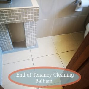 deep cleaning balham