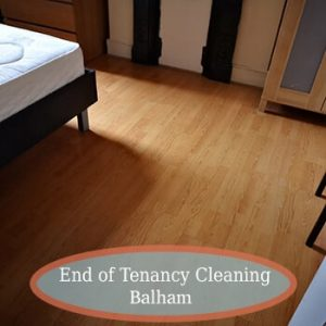 end of tenancy balham